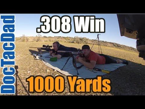 1000 Yards - .308 Win Hunting Rifle - Elk Sniper