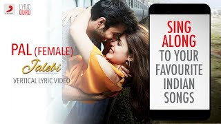 Presenting the year's most romantic and soulful track – pal, voiced by none other than shreya ghoshal. http://vevo.ly/dalbfv