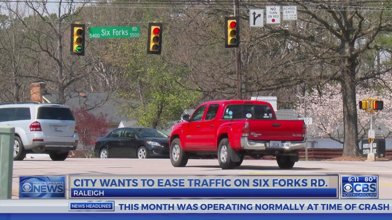 Raleigh unveils new plan to solve traffic woes on Six Forks Road