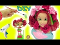 DIY Do It Yourself Craft Big Inspired Shopkins Shoppies Doll From Disney Little Mermaid Style Head