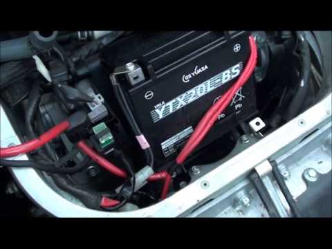 Аккумулятор GS Yuasa на снегоходе Yamaha RS Venture GT ходит уже 5 лет