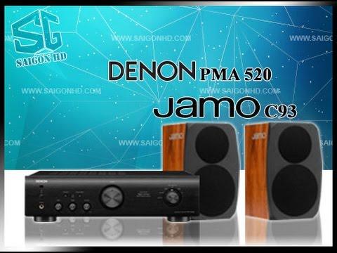 Denon PMA-655R amplifier + Jamo Classic 4 sound test [HQ ...
