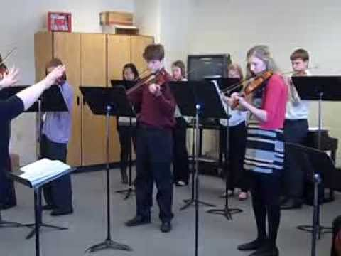 The Luther Preparatory School String Ensemble