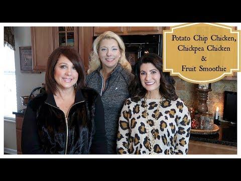 Potato Chip Chicken, Chickpea Chicken & Healthy Smoothie   The2Orchids