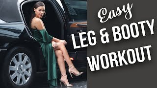 MY FITNESS JOURNEY DAY 5 OF 30 | Leg Day Workout | Eman