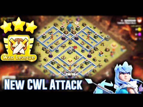 NEW CWL ATTACK TH12 - BEST GROUNDS ATTACK STRATEGY 3-STAR IN CLAN WAR LEAGUES 2019( Clash of Clans )
