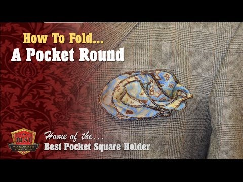 How to Fold POCKET ROUNDS
