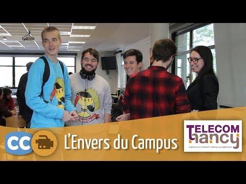 Découvrez l'Envers du Campus de Telecom Nancy