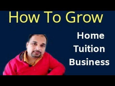 Tips For Home Tutors