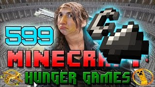 Minecraft: Hunger Games w/Mitch! Game 599 - FIRE AND BOWS!