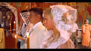 Венчание Дмитрия и Надежды.