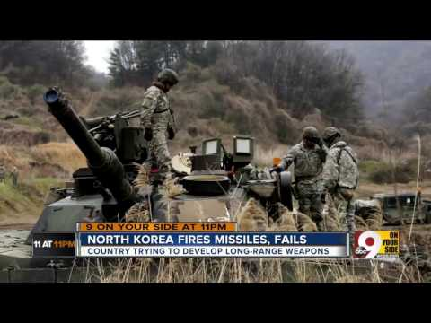 Thumbnail: North Korea fires missiles, fails