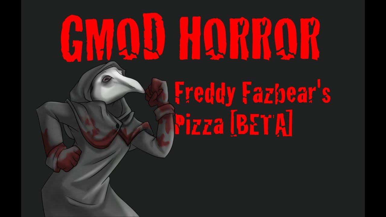 2 Pizza Fazbears Freddy Map Gmod