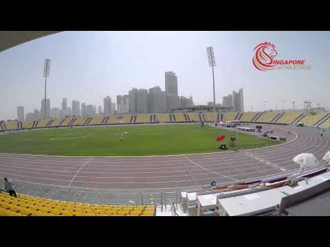 Qatar Sports Club Stadium -  2015 Asian Youth Athletics Championships