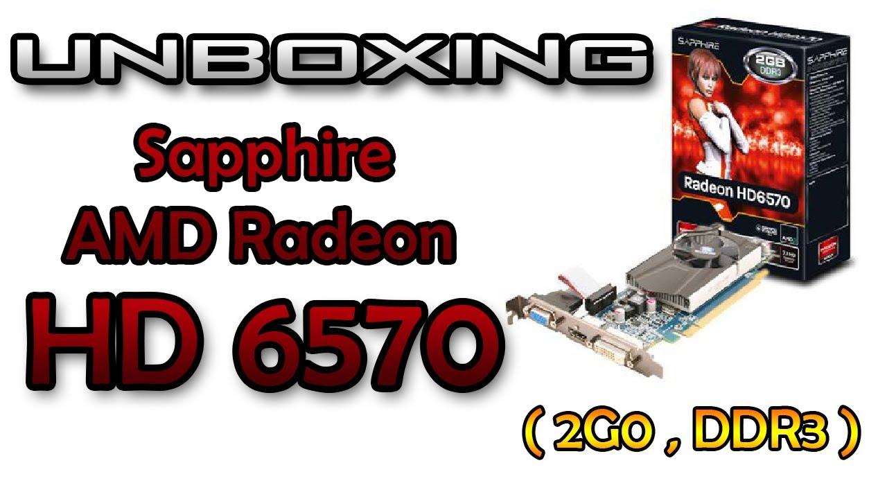 DRIVERS UPDATE: SAPPHIRE RADEON HD 6570 2GB DDR3