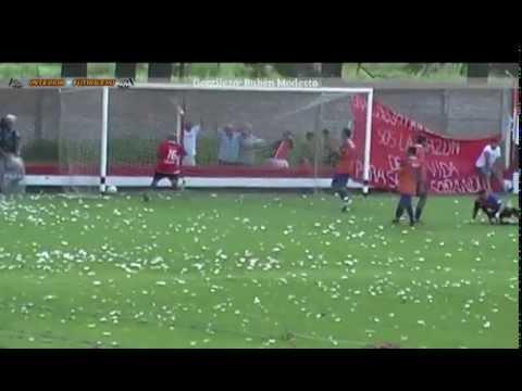 General Rojo 2 - 1 Regatas (Liga Nicoleña) - Agresión al árbitro Walter Mansilla