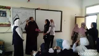 مدرسة عمر بن عبد العزيز بدمياط الجديدة  واستخدام استراتيجية شريط الذكريات
