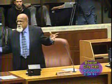 Boston City Council Hearing: The Ousting of Chuck Turner