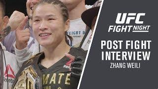 UFC Shenzhen: Zhang Weili -