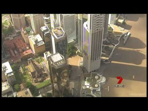 Seven News: Flood Diaster Broadcast - Channel Seven 2011