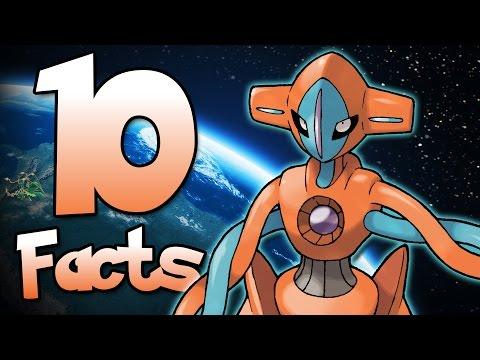 10 Facts About Deoxys That You Probably Didn't Know! (10 Facts) | Pokemon Facts