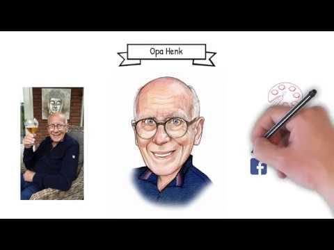 Portretvideo Opa Henk