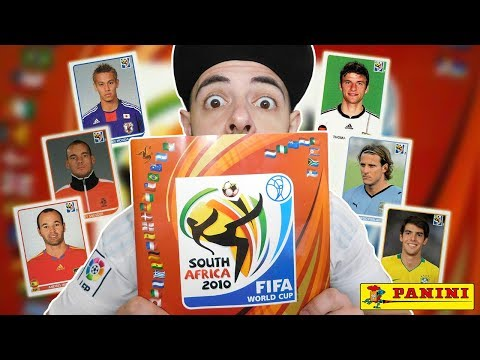 Panini World Cup SOUTH AFRICA 2010 | Complete Album Review