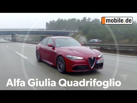 Auto Test Alfa Romero Giulia QV 952 ab 2016 mobile.de