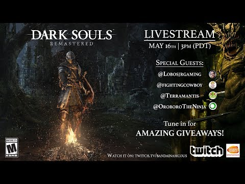 DARK SOULS: REMASTERED Special Preview Stream!