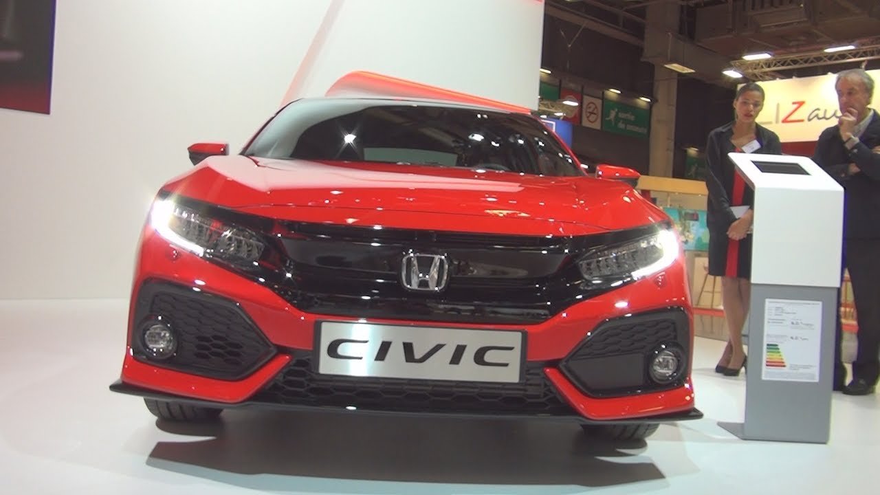 honda civic 1 5 i vtec sport plus 2017 exterior and interior in 3d youtube. Black Bedroom Furniture Sets. Home Design Ideas