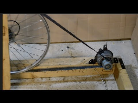 Bicycle generator v lo g n rateur d 39 lectricit youtube for Generateur d electricite prix