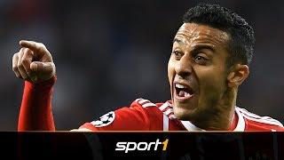 Abschied vom FC Bayern? Thiago äussert sich mehrdeutig   SPORT1 - DER TAG