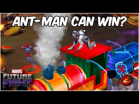 ANT-MAN CAN SAVE US FROM JEAN GREY!! DODGE EVERYTHING!! - Marvel Future Fight
