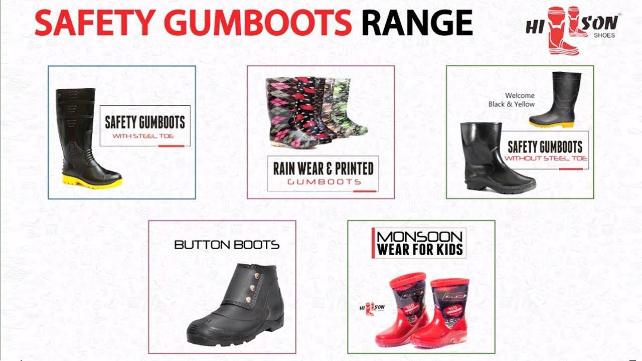 5917f859450 Hillson Safety Gumboots