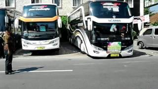 bus satria muda scania K410 di pemalang(2)