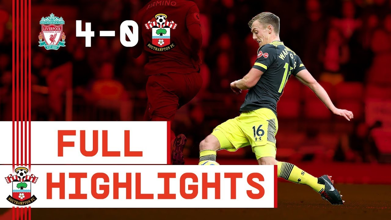 HIGHLIGHTS: Liverpool 4-0 Southampton | Premier League