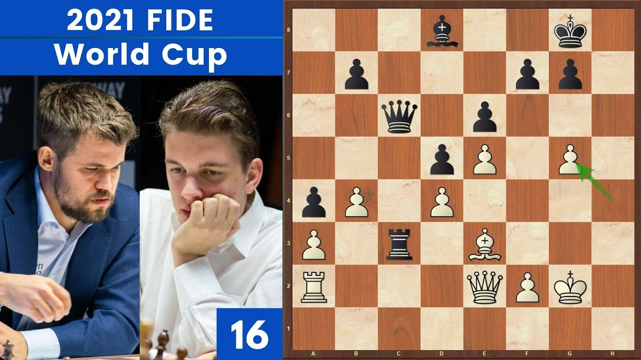L'Acqua che Scava la Roccia! -  Carlsen vs Duda  | FIDE World Cup 2021