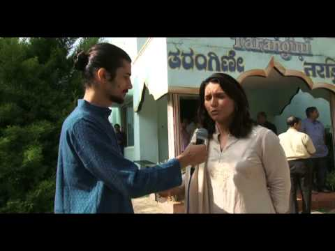 Interview: Congresswoman Tulsi Gabbard in S-VYASA University