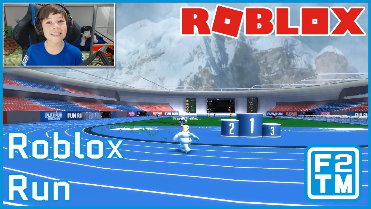 Running In Roblox Youtube Roblox Run The New Name For Roblox Fun Run Youtube