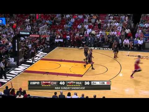 Chicago Bulls vs Miami Heat | February 23, 2014 | NBA 2013-14 Season