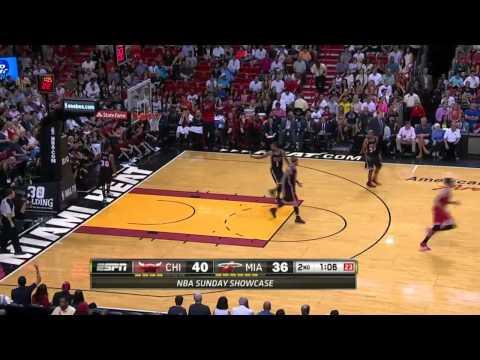 Chicago Bulls vs Miami Heat | February 23, 2014 | NBA 2013-14 Season