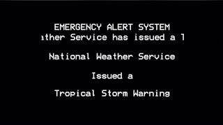 Tropical Storm Warning: Middlesex, NJ 8/3/20 (Hurricane/Tropical Storm Isaias)