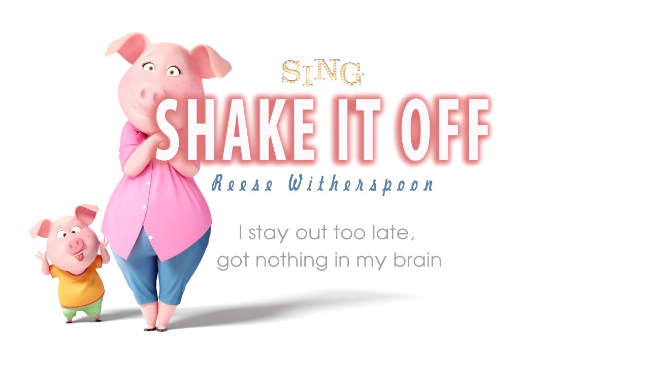 Shake It Off Sing Rosita And Gunter