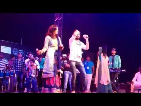 Dj Gaman Santhal and Kajal Maheriya Live Stage 2017