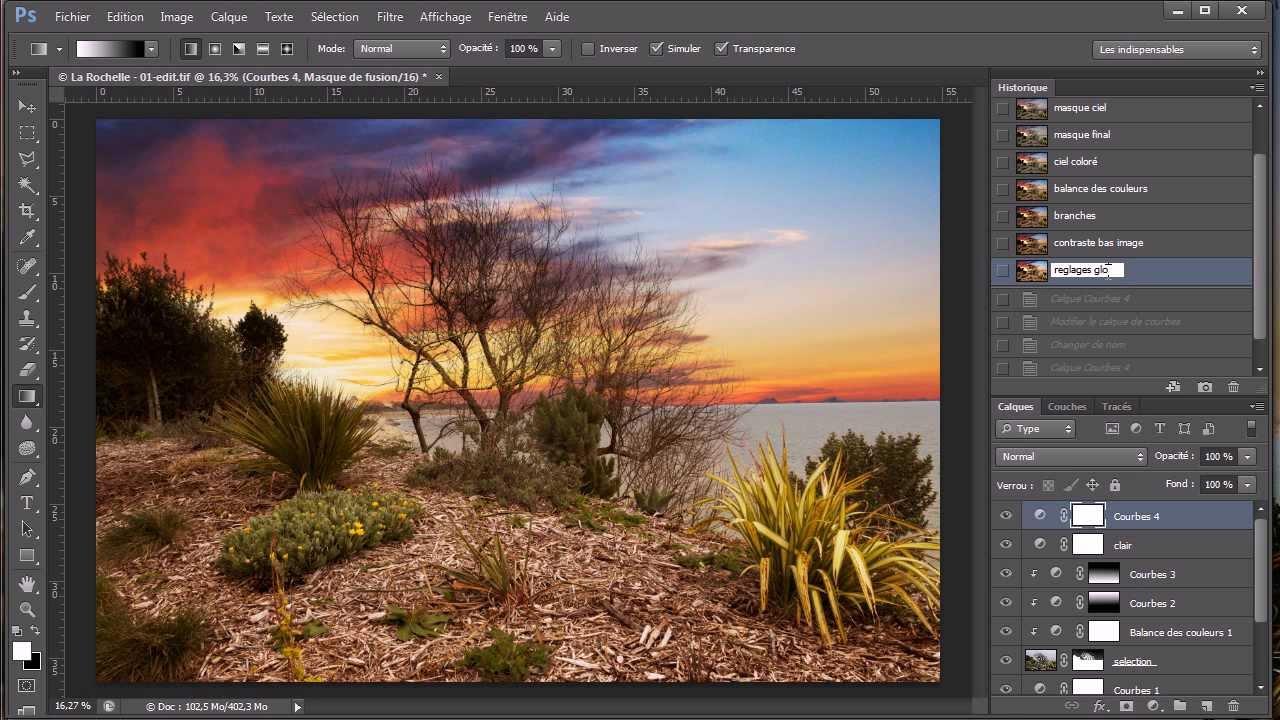 Comment insérer une image dans une autre image avec photoshop ...