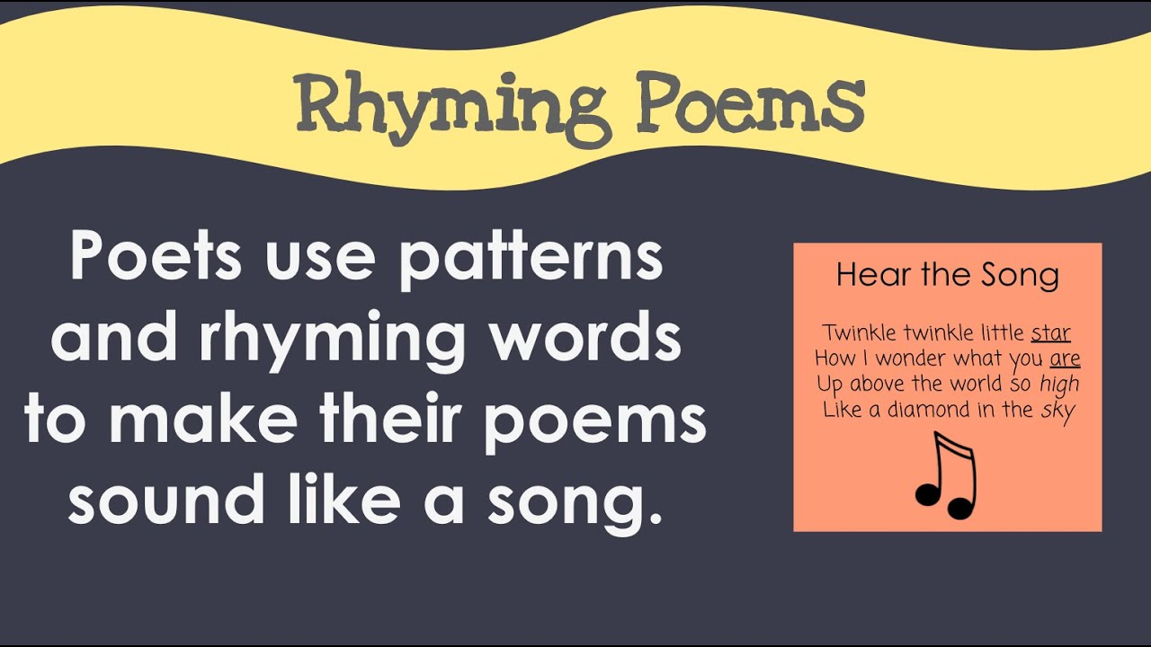 AABB & ABAB Poems - YouTube