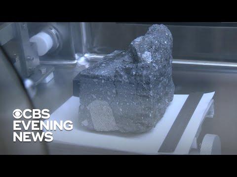 NASA shows off moon rocks to commemorate Apollo 11 50th anniversary
