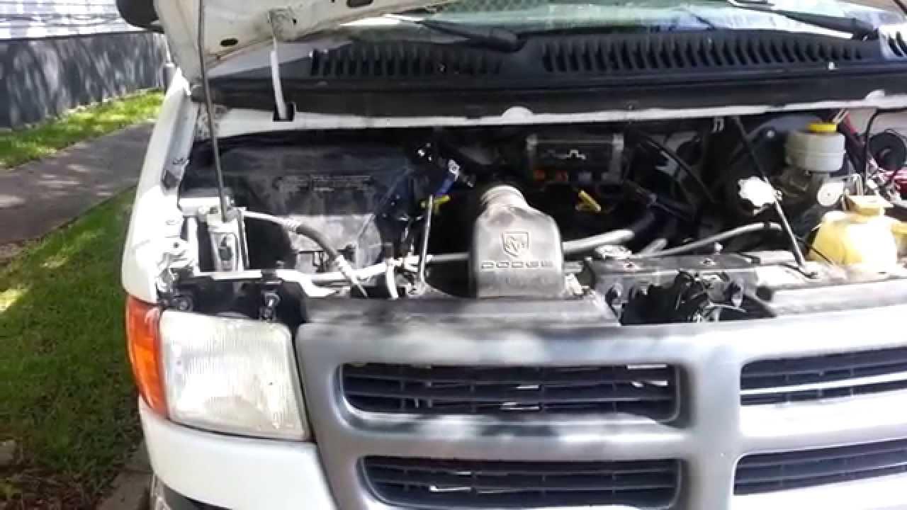 Dodge Ram Van Weak Blower (Dirty Evaporator)  YouTube
