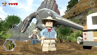 LEGO Jurassic World - Free Roam Gameplay #2 (PC) [HD]