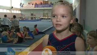 Спортивные гимнастки в Сочи разыграют «Кубок надежд». Новости Эфкате